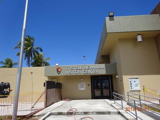 Santa Rita, Quần đảo Mariana: ステル ニューマン ビジター センター