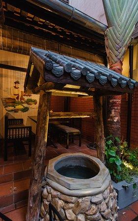 Garden Corner at Lang Lieu Restaurant