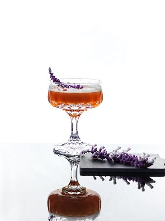 """Lavender"" Signature Cocktail"
