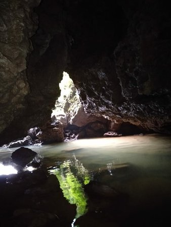 The meghalayan  age cave.  A must visit for those who are interested  on caving.