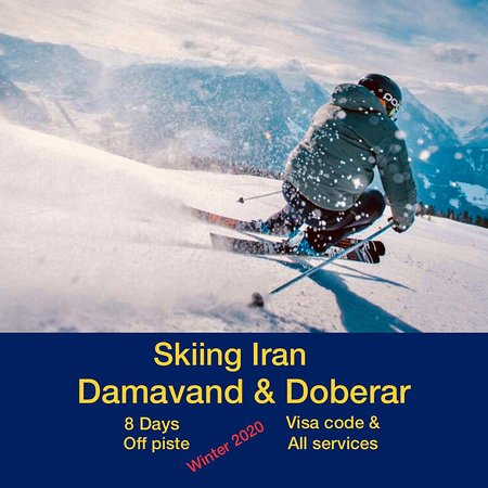 Damavand, איראן: Ski tours winter 🥶 2019/20 Off piste 🎿 For booking tours or more info 💭 instagram Direct or contact us: 📱WhatsApp: 00989906103701