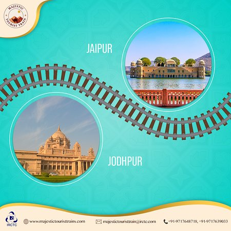 The gateway to India's most flamboyant state, Jaipur is a treat for the connoisseurs of #art, #history & #heritage. To visit its most iconic spots, book your passage onboard the Majestic Tourist Train today. For offers & booking, visit www.majestictouristtrain.com