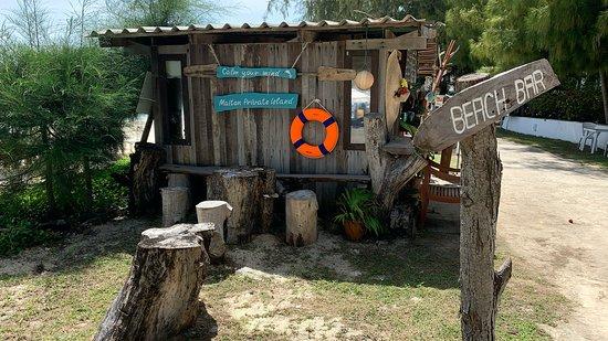 Maiton Island Tour en bateau rapide : Beach bar