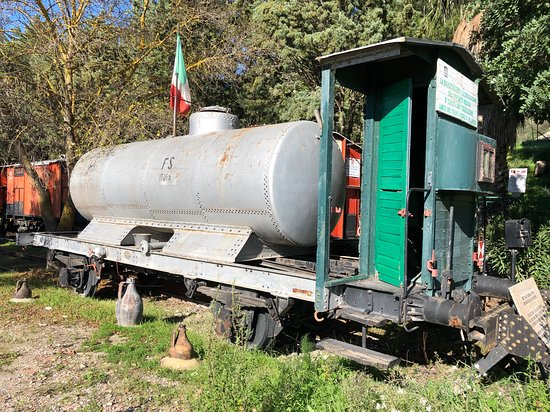Treno museo Villarosa