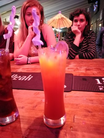 Tequila sunrise always goes down well