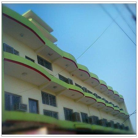 Hotel Raj Front View