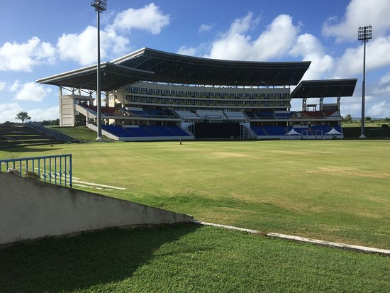 Main stand at national VR cricket stadium