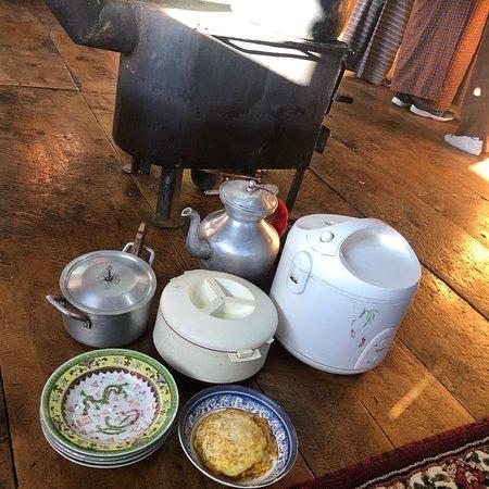 Haa District, Bhutan: Breakfast!