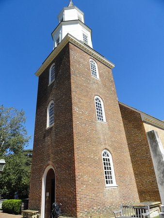 Church Steeple and Entrance