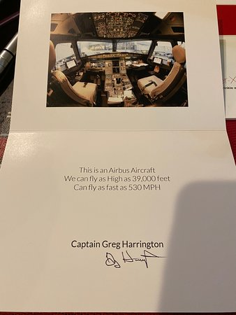 American Airlines: little present from the Captain to my twins
