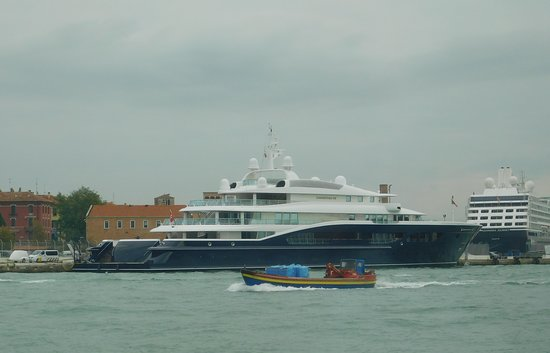 More impressive vessels to be seen