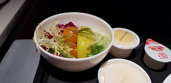Cathay Pacific: Dinner.