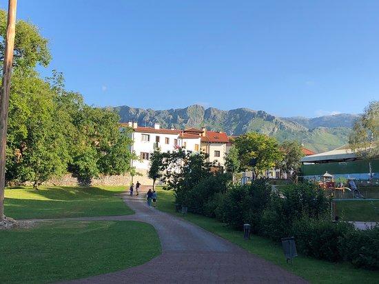 The park...