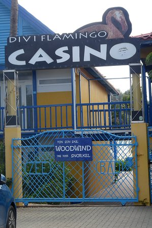 Casino entrance where you meet up with a Woodwind representative.