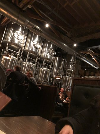 Great place in Southtown with a microbrewery to eat and try good beer.  Cozy place near nice shopping to browse if needing to wait for a table.