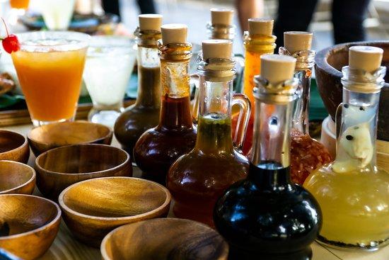 The Monkeybar's DIY sauces