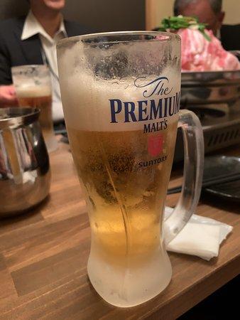 ビールはプレモルです