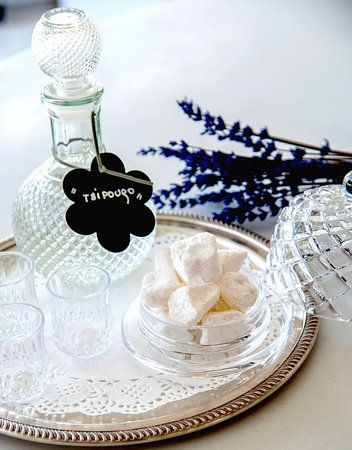 """""""A sweet welcome in Greek style"""""""