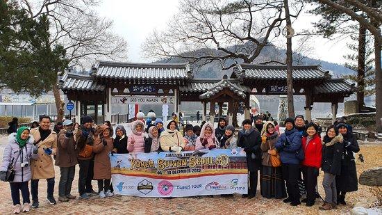 Bandung, Indonézia: Nuansa Tour Group Korea Suwon Seoul 6-10 Desember 2019