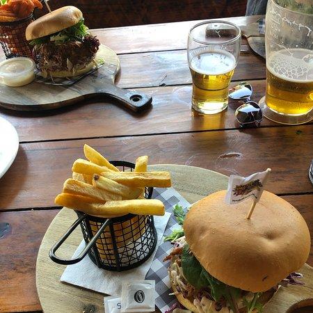 Great pub food, nice farmyard vibe