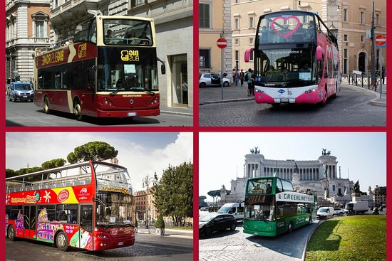 ‪Rome Open Bus Tour‬