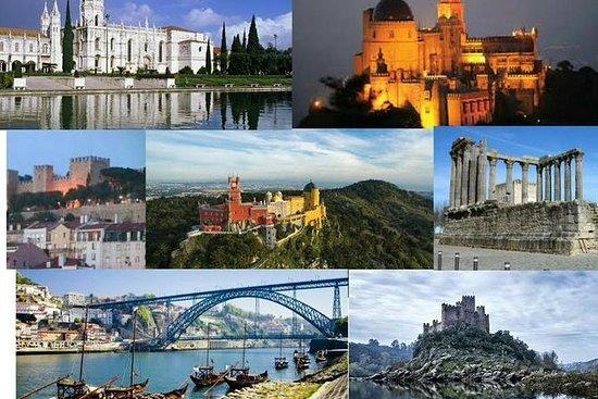 葡萄牙大陆的私人旅游8小时到辛特拉