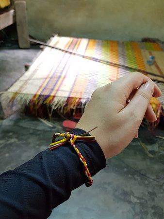 Sleeping mat making place