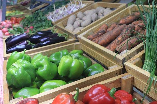 Bishkek, Kyrgyzstan: свежие овощи круглый год