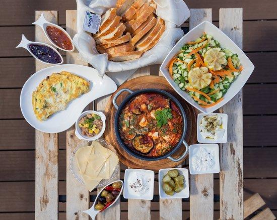 Kfar Hoshen, Israel: ארוחת בוקר זוגית מפנקת