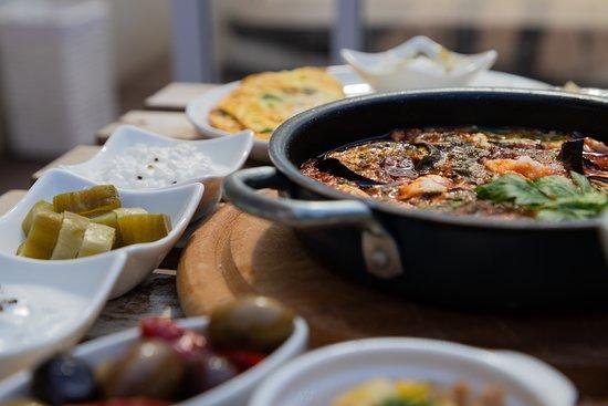 Kfar Hoshen, Israel: Double breakfast