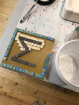 Rheinbrohl, เยอรมนี: Workshop Mosaik