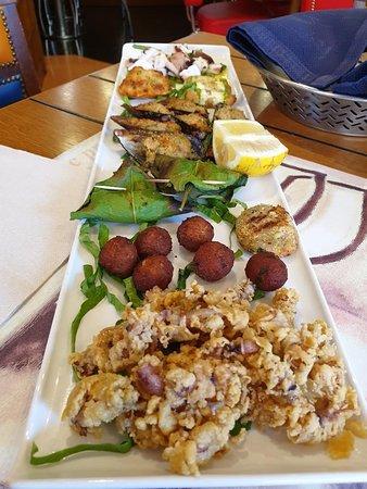 Degustazione di pesce cotto