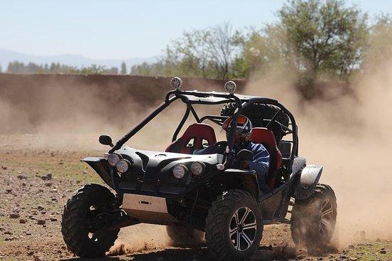 马拉喀什沙漠和棕榈树林越野车之旅包括柏柏尔村