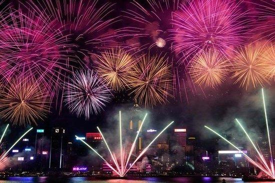 Vuurwerkcruise in Hong Kong, Chinees ...