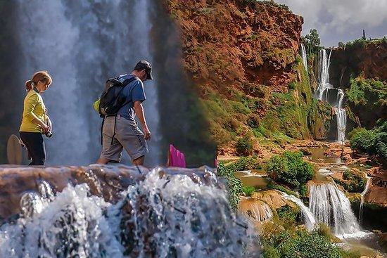 从马拉喀什出发前往乌祖瀑布的高级一日游