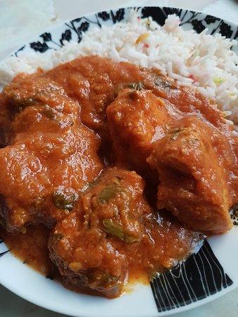 Breakfast of Chicken Madras