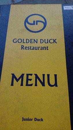 中式餐廳餐牌