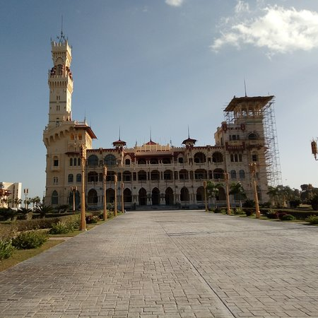 Khedive Abbas II, the last Khedivate of Egypt and Sudan from 1892 to 1914, built Montazah palace along the Alexandrian coastline as a summer residence.  After the death of Abbas Helmy II, the royal family continued taking care of the Montazah complex until the reign of king farouk.