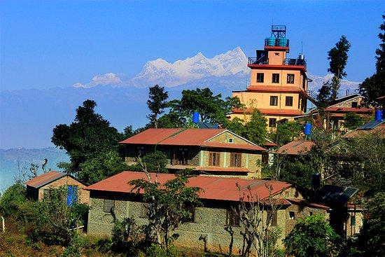 Shreeban Nature Camp, Himalaya on the background.