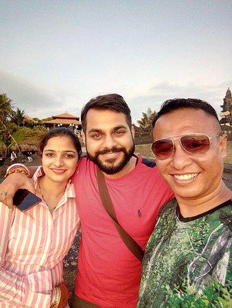 Mr.Rahul and wife