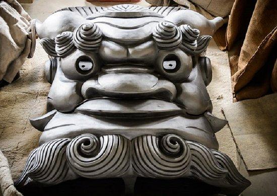 Roof Gargoyle Onigawara Ornament