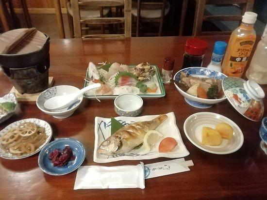 充実した夕食でした。