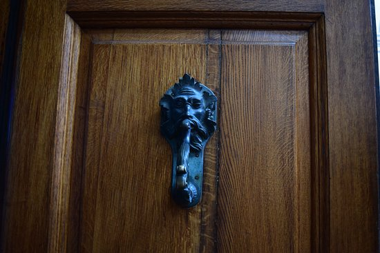 """Biglietto d'ingresso al Blenheim Palace: Reminded me of """"A Christmas Carol"""" - you don't see door handles like this every day, as a rule"""