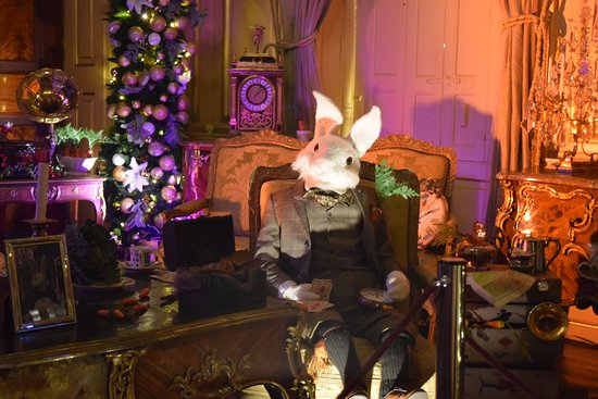Biglietto d'ingresso al Blenheim Palace: The white rabbit and the room's furnishings