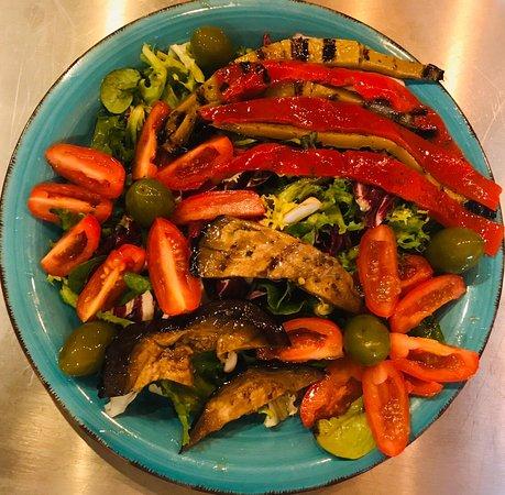 Veggie Grillteller