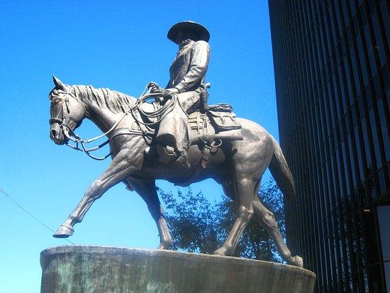 The Horseman - John Wayne Sculpture