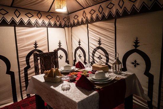 Dihya Desert Camp: Restaurant