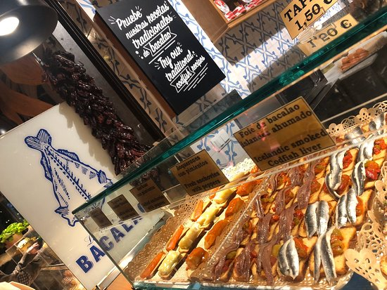 Best market in Madrid for Tapas
