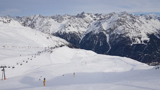 The slopes of Soelden