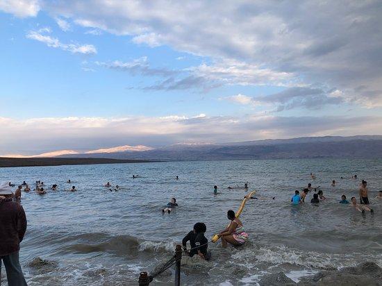 Masada, Ein Gedi and The Dead Sea from Jerusalem: The Dead Sea